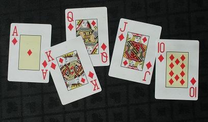 A winning poker hand