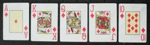 The winning hand in Omaha poker