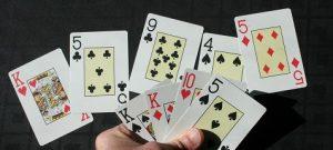 Omaha winning hand