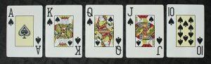 The best hand in poker